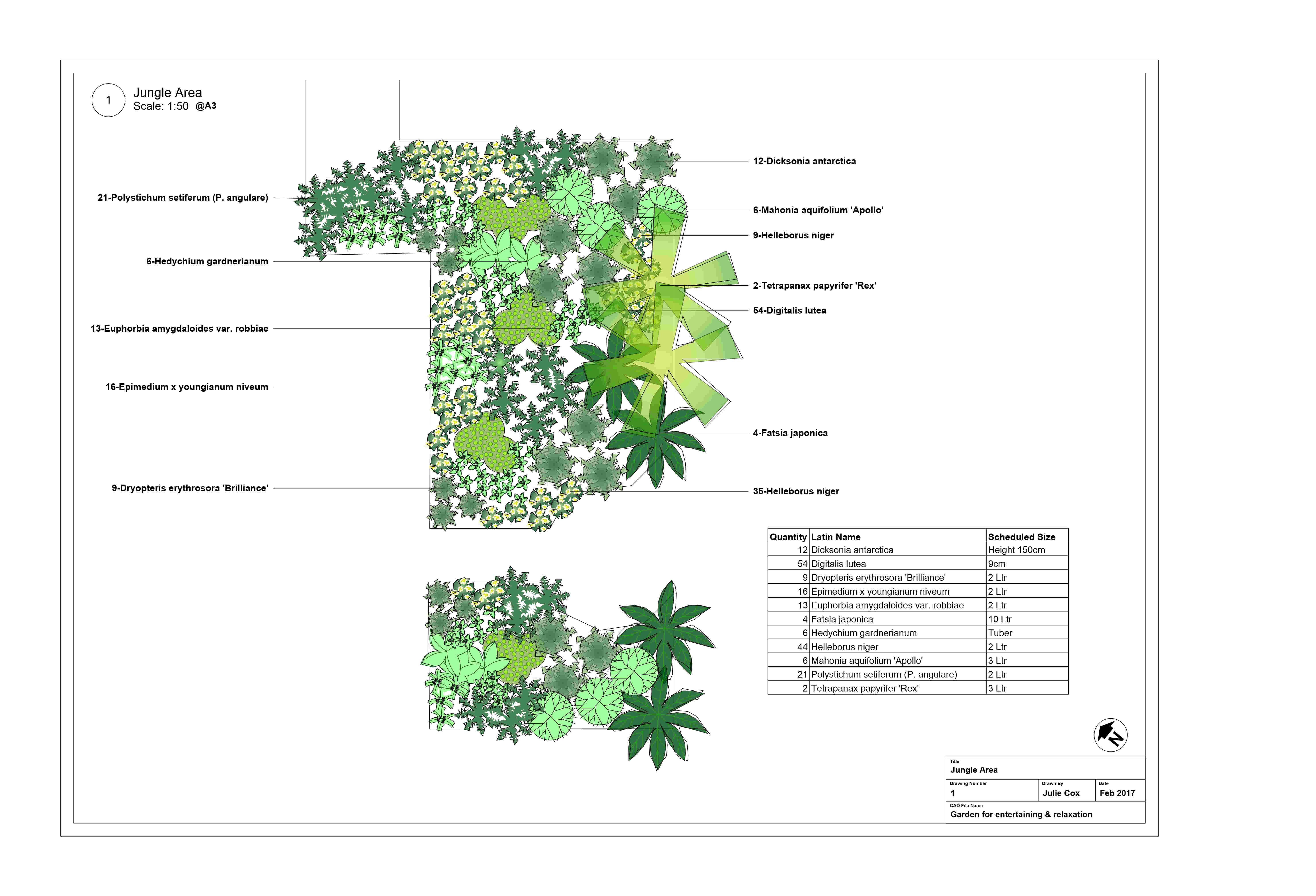 Jungle area design