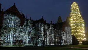 Wakehurst Place Mansion Lights