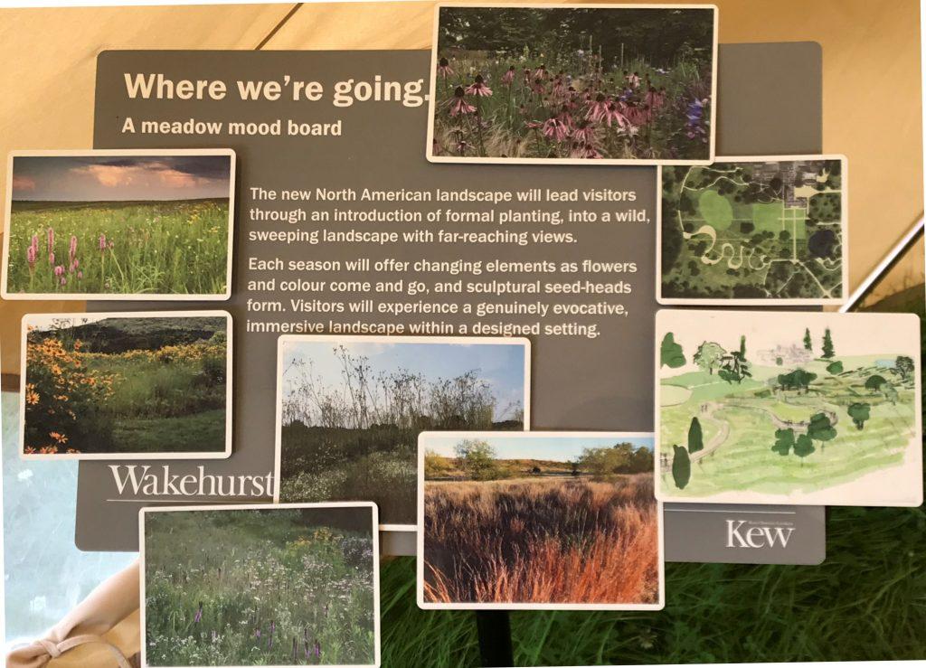 Wakehurst Place Prairie landscape Moodboard images