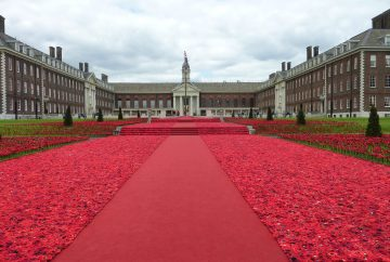 Royal Hospital grounds at Chelsea